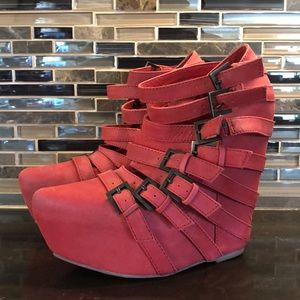 Jeffrey Campbell Havana Last belted wedges